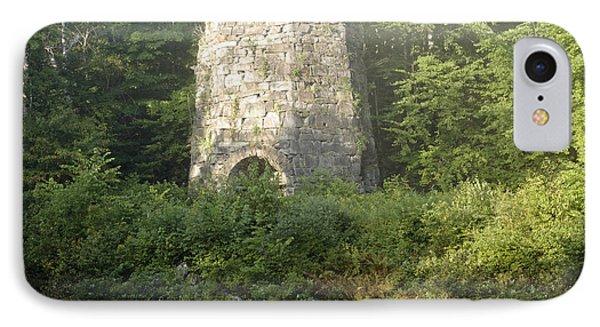 Stone Iron Furnace - Franconia New Hampshire Phone Case by Erin Paul Donovan