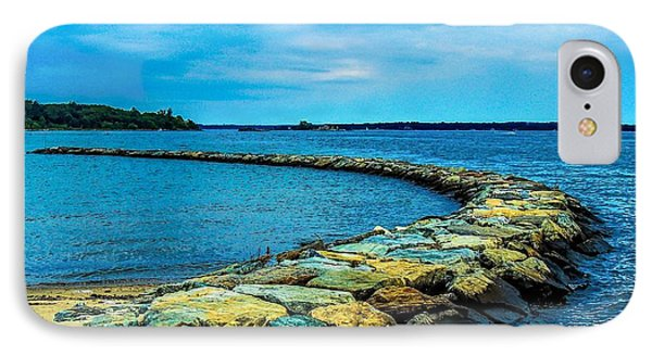 Stone Jetty IPhone Case