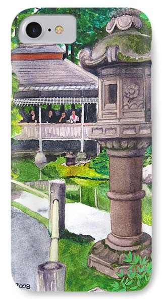 Stone Lantern IPhone Case by Mike Robles