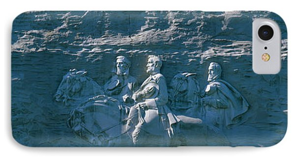 Stone Mountain Confederate Memorial IPhone Case by Panoramic Images