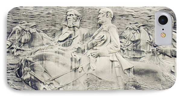 Stone Mountain Georgia Confederate Carving Phone Case by Lisa Russo