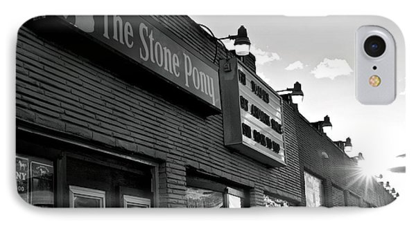 Stone Pony Asbury Park Side View IPhone Case by Terry DeLuco