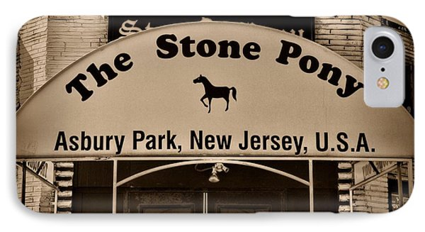 Stone Pony Enter Here IPhone Case by Paul Ward