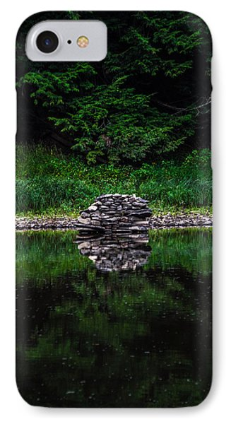 Stone Reflection IPhone Case
