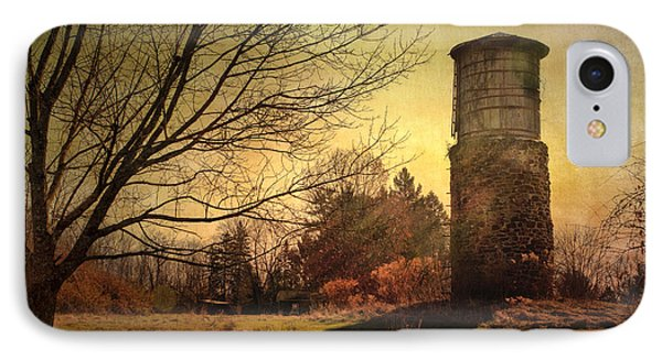 Stone Silo And Water Tower  IPhone Case by Betty  Pauwels