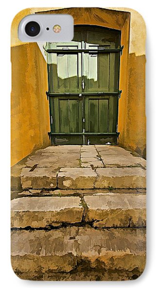 Stone Stair Entranceway  Phone Case by David Letts