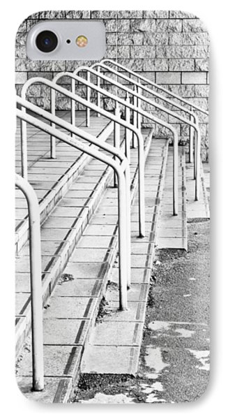 Stone Steps And Railings IPhone Case by Tom Gowanlock
