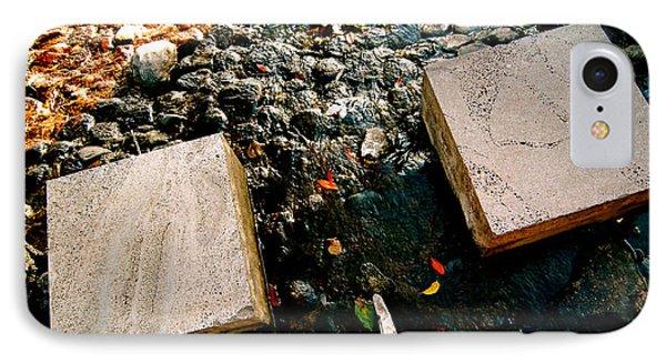 Stone Walking Phone Case by Yen