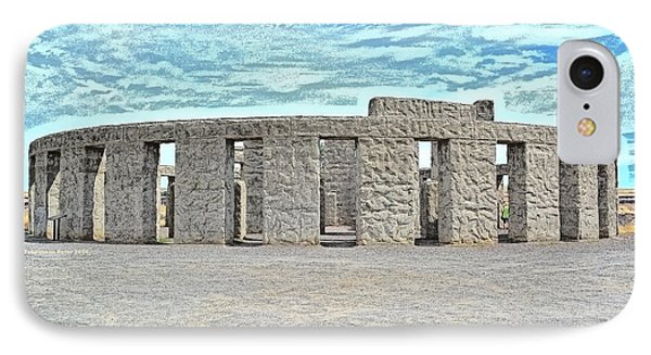 Stonehenge Memorial On Summer Solstice IPhone Case by Tobeimean Peter