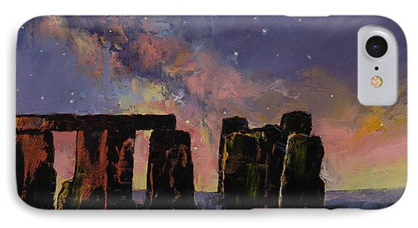 Stonehenge IPhone Case by Michael Creese