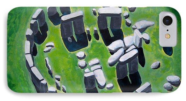 Stonehenge Phone Case by Mitchell McClenney