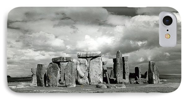 Stonehenge Prehistoric Monument Phone Case by Science Source