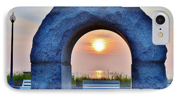 Sunrise Through The Arch - Rehoboth Beach Delaware IPhone Case