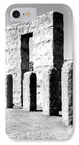 IPhone Case featuring the photograph Stonehenge Replica by Chalet Roome-Rigdon