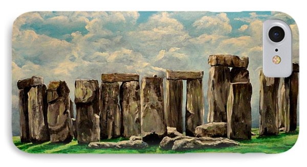 Stonehenge IPhone Case by Ruanna Sion Shadd a'Dann'l Yoder