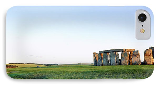 Stonehenge Wiltshire England IPhone Case by Panoramic Images