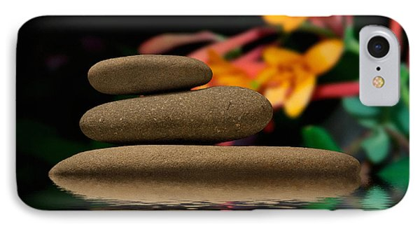 Stones 2 IPhone Case by WB Johnston