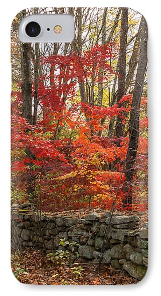 IPhone Case featuring the photograph Stonewall A Blaze by Dawn Romine