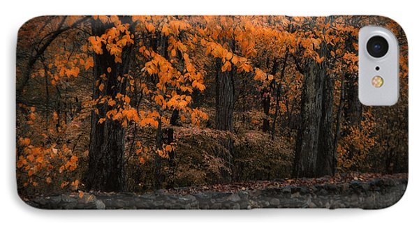 Stonewall In Autumn IPhone Case by GJ Blackman