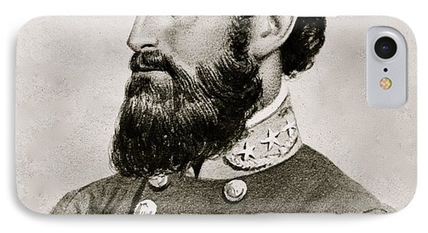 Stonewall Jackson Confederate General Portrait IPhone Case