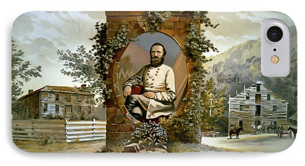 Stonewall Jackson IPhone Case