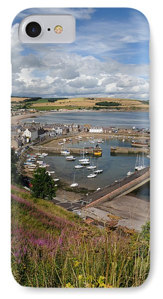 Stonhaven Harbour  Scotland IPhone Case by Jeremy Voisey