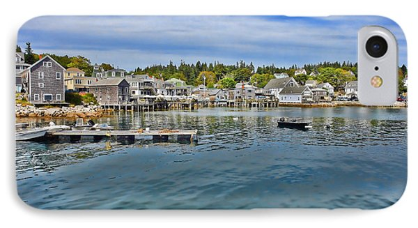Stonington In Maine Phone Case by Olivier Le Queinec