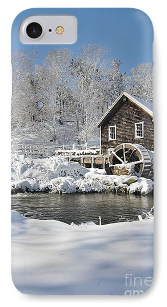 Stony Brook Grist Mill IPhone Case by Catherine Reusch Daley