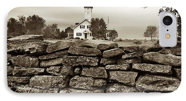 Stony Point Lighthouse IPhone Case by Tony Cooper