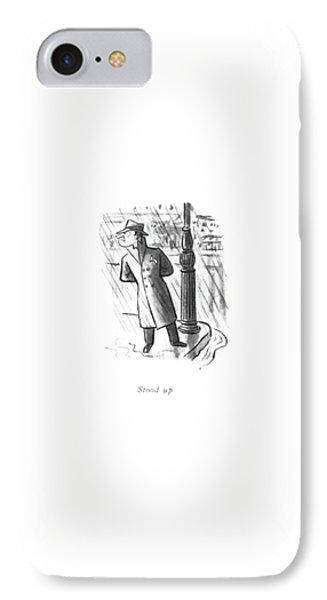 Stood IPhone Case by William Steig