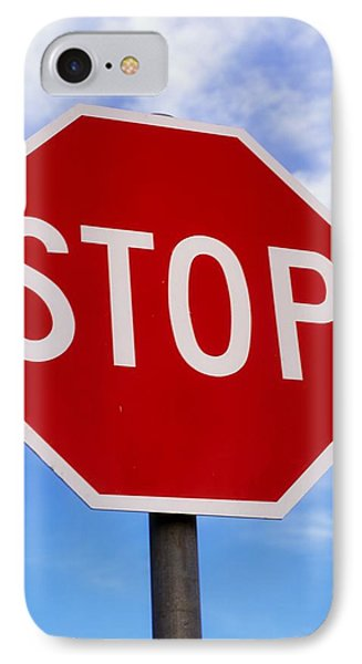 Stop Sign Ireland Phone Case by The Irish Image Collection