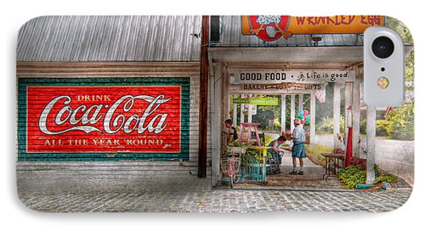 Store Front - Life Is Good Phone Case by Mike Savad