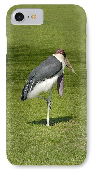 IPhone Case featuring the photograph Stork by Charles Beeler