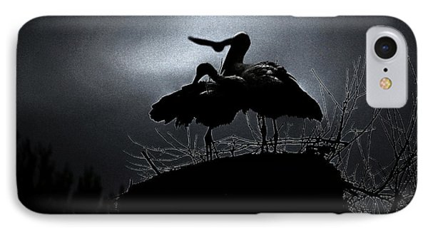 Stork Couple IPhone Case