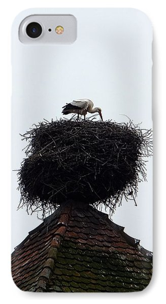 IPhone Case featuring the photograph Stork by Marc Philippe Joly