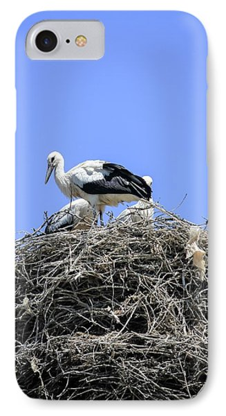 Storks Nesting IPhone Case by Photostock-israel