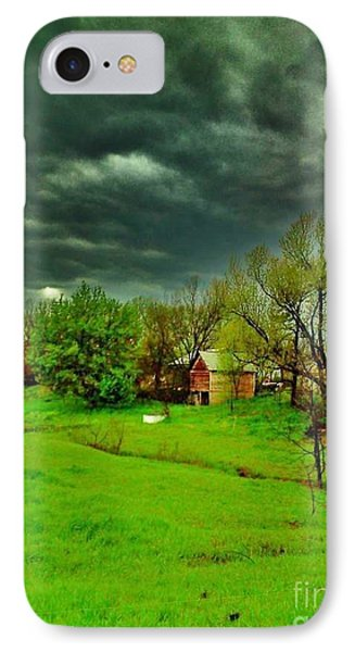 Storm Anticipation IPhone Case by PainterArtist FIN