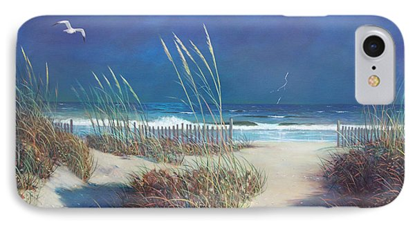 Storm At Sea IPhone Case by Blue Sky