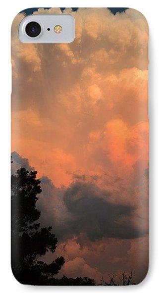 Storm At Sundown IPhone Case