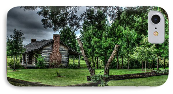 Storm At The Old Home Place IPhone Case by Douglas Barnett