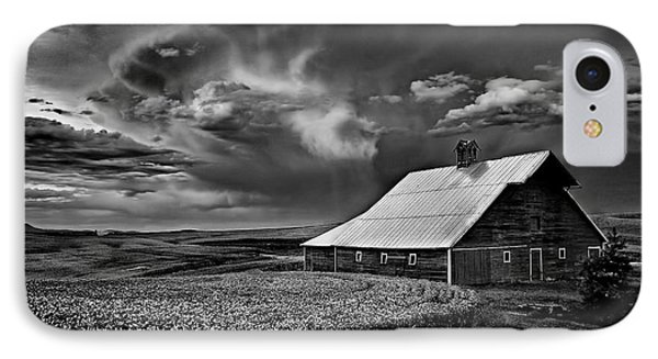 Storm Barn IPhone Case by Latah Trail Foundation