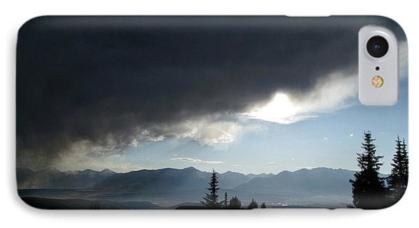 Storm Blows Over Phone Case by Jeremy Rhoades
