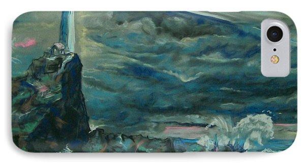 Storm Breaking IPhone Case by Peter Suhocke