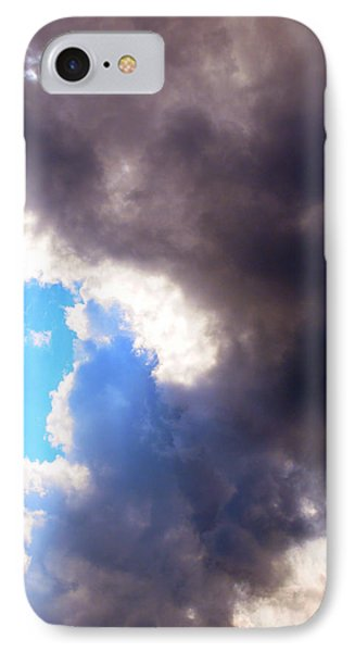 IPhone Case featuring the photograph Storm Brewing by Deborah Fay