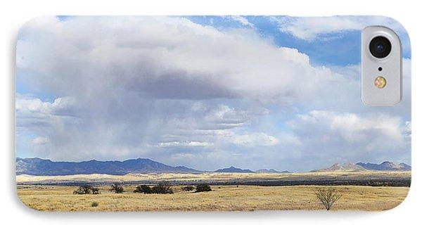 Storm Brewing North Of Sonoita Az IPhone Case by Alan Lenk