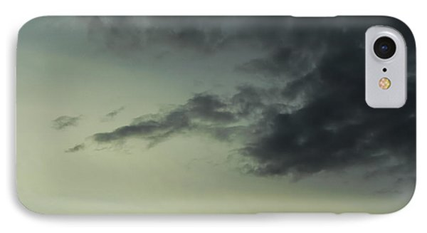 Dark Clouds IPhone Case by John Rossman