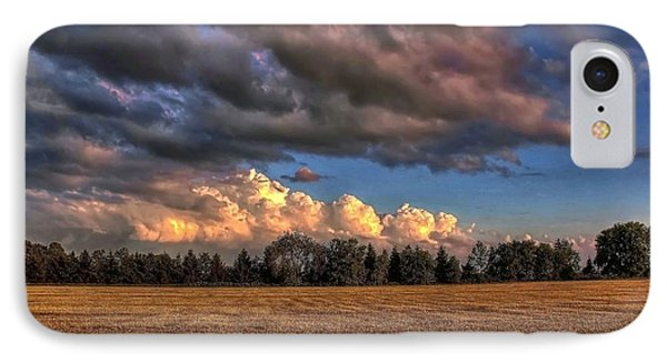 IPhone Case featuring the photograph Storm Clouds by Michaela Preston