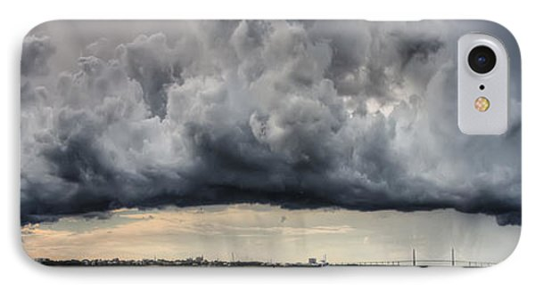 Storm Clouds Over Charleston South Carolina IPhone Case by Dustin K Ryan
