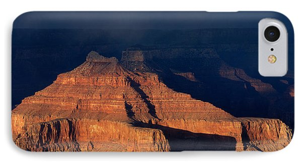 Storm Clouds Over Grand Canyon Az IPhone Case by Panoramic Images
