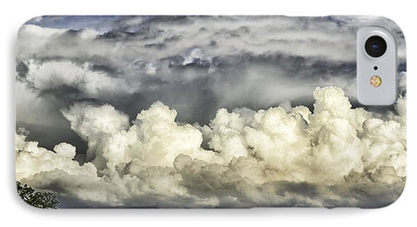 Storm Clouds Over Mountain Phone Case by Thomas R Fletcher